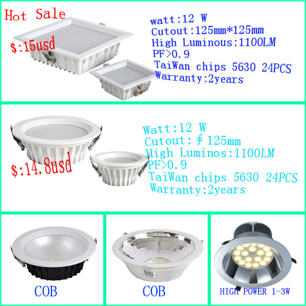 Chinese CE RoHS FCC&GOST-R led down light