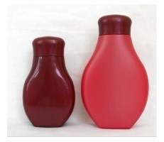 PE plastic body lotion bottle