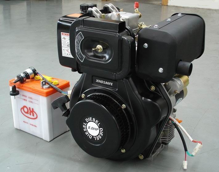 SJ186FE 8hp Portable diesel engines