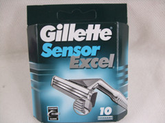 gillette sensor excel 10 cartridges with series No. Russia