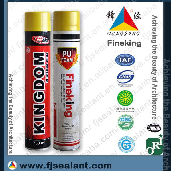 All purpose PU foam sealant