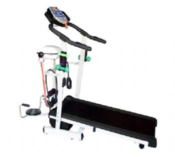 8-Way Foldable Motorized Treadmill