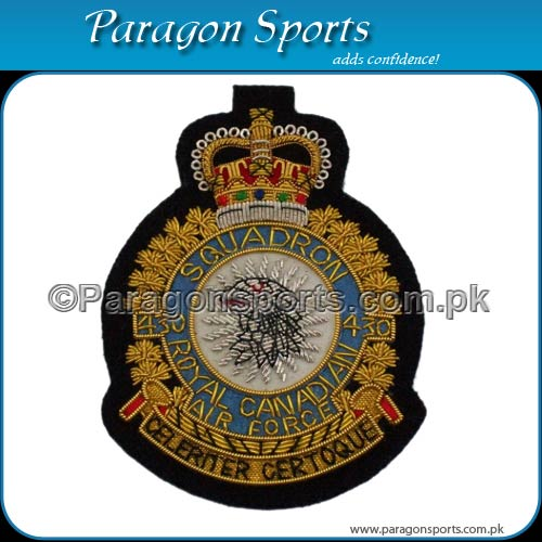 Bullion Badges Handmade Embroidered Air Force Badges