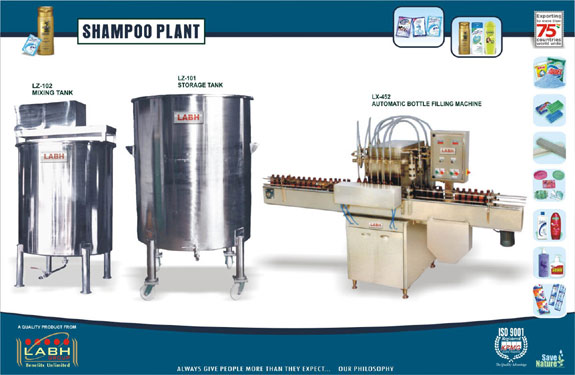 Labh Group of Companies-Detergent and soap Machines Division