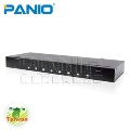 PANIO VAS88 8-Port VGA Matrix Switch with Audio