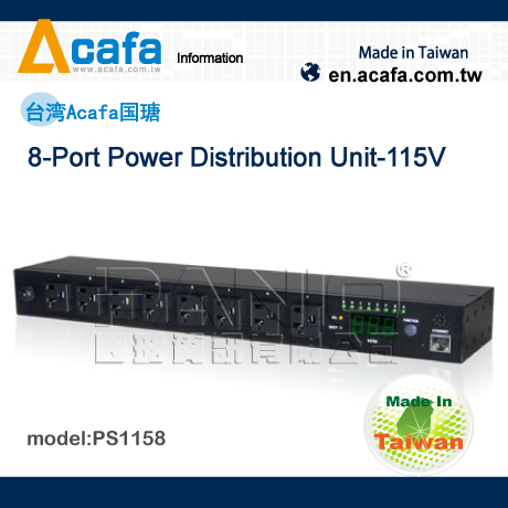 PANIO  8-Port Power Distribution Unit 230V