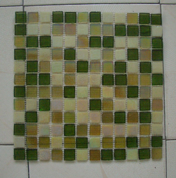 glass tile mosaic. Glass mosaic tile-iridescent