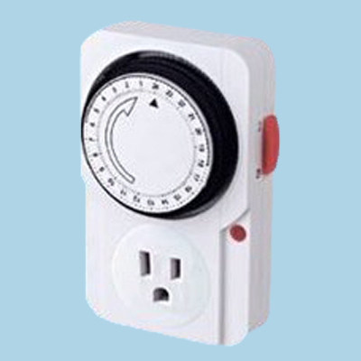 24 hour Mechanical Switch Knob Power Sheet Copper Timer