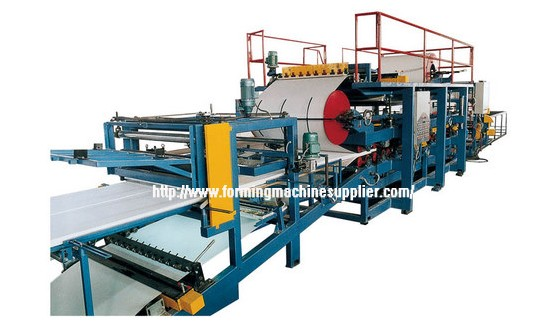 Steel Sandwich Panel Roll Forming Machine